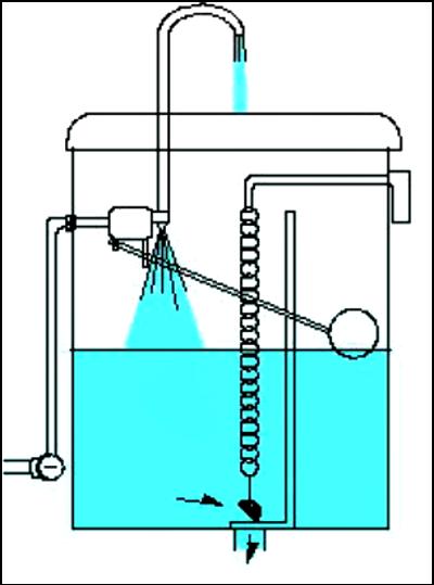 水栓トイレの水が流れる仕組み①
