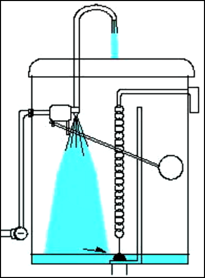 水栓トイレの水が流れる仕組み②