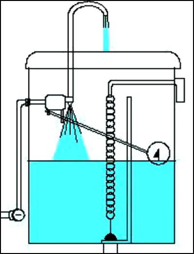 水栓トイレの水が流れる仕組み③