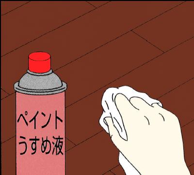 フローリング床の掃除