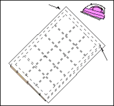 障子紙の張り付け(アイロン張り)