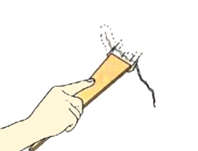 壁のヒビ割れ補修方法
